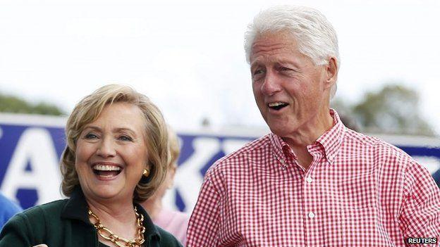Hệ thống email ban đầu được thiết lập để phục vụ cựu Tổng thống Bill Clinton, theo bà Clinton