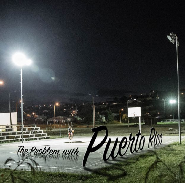 Basketball court in Puerto Rico