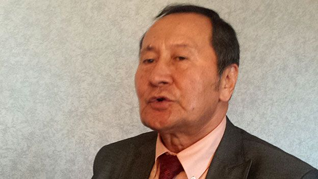 Kakharman Khozhamberdi, the Central Asian representative of the World Uighur Congress