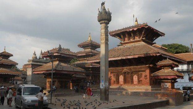Kathmandu's Durbar Square in 2010
