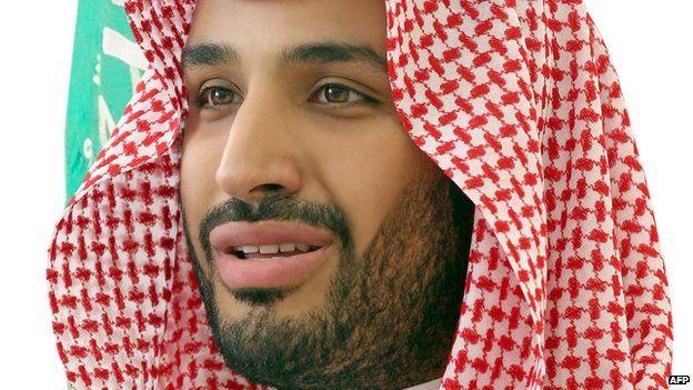 Mohammed bin Salman in a 2015 file photo