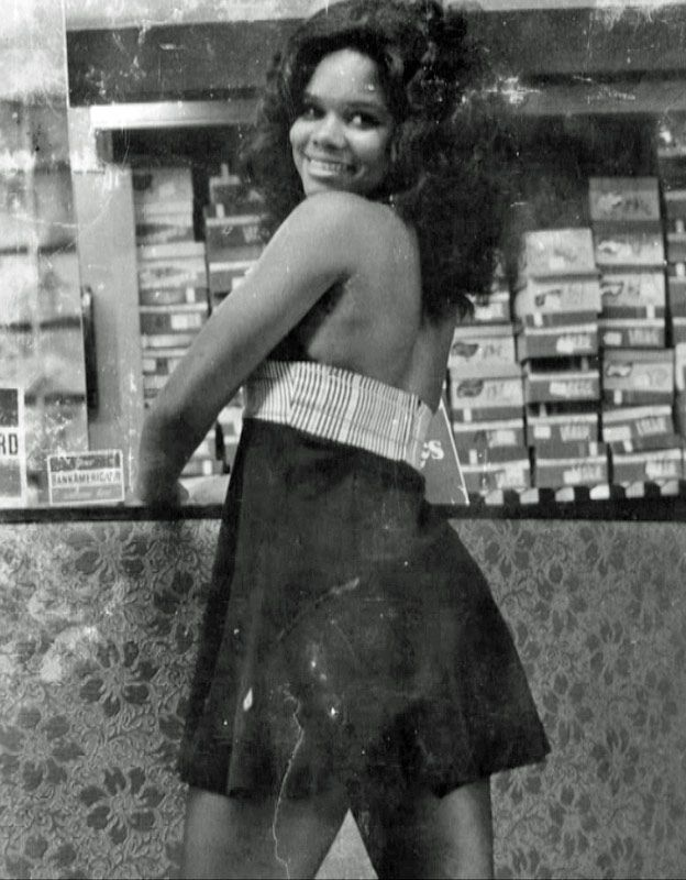 Brenda Myers-Powell as a young woman