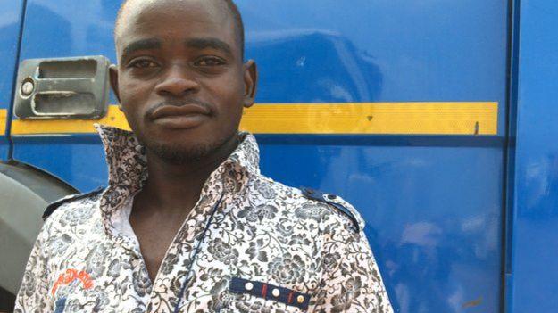 Truck driver Ibrahim Abdullahi