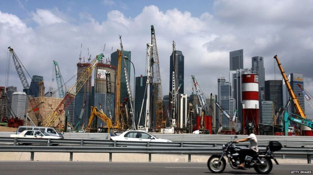 Construction in Singapore 2007