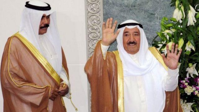 The late Emir of Kuwait Sabah Al-Ahmad Al-Sabah