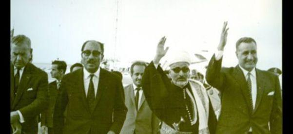 Абдель Насер и Садат во время встречи Аль-Эриани в Каире