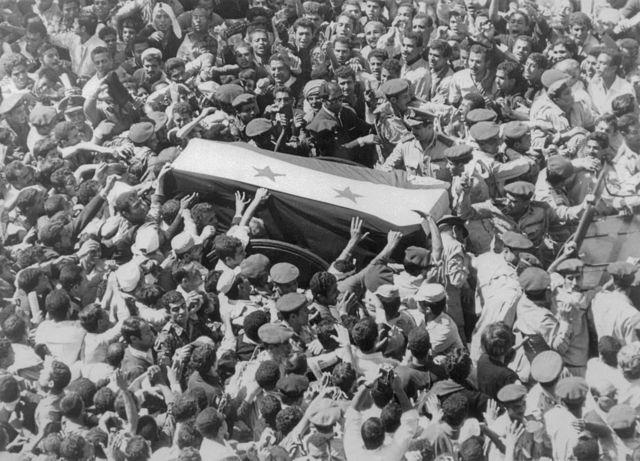 A majestic funeral for Gamal Abdel Nasser