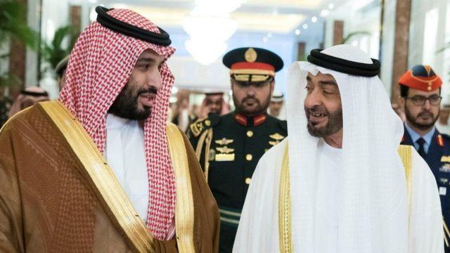 Ibn Zayed and Ibn Salman