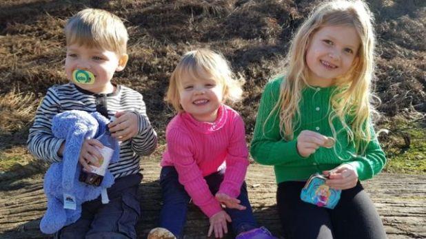 أطفال آشلي الثلاث