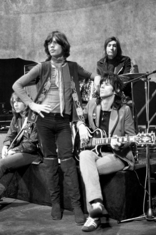 Los Rolling Stones en 1969.