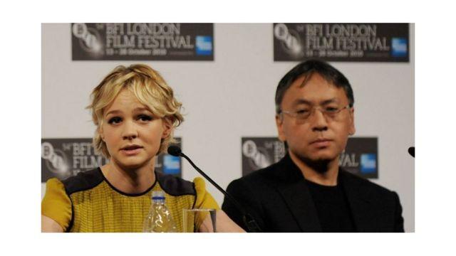 英国演员凯里·穆里根(Carey Mulligan)主演了一部改编自石黑一雄小说的电影