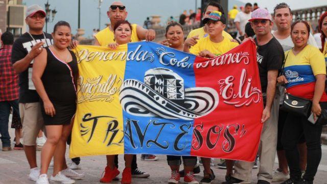 Cumbia fans in Monterrey