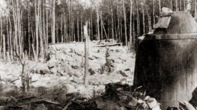 Руїни ставки, 1944 рік