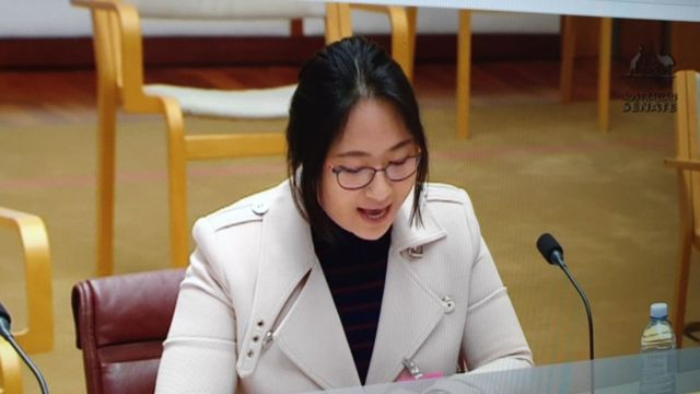 Jiang Yun talked about her community research in a parliamentary question before.
