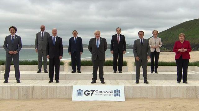 قادة دول مجموعة السبع