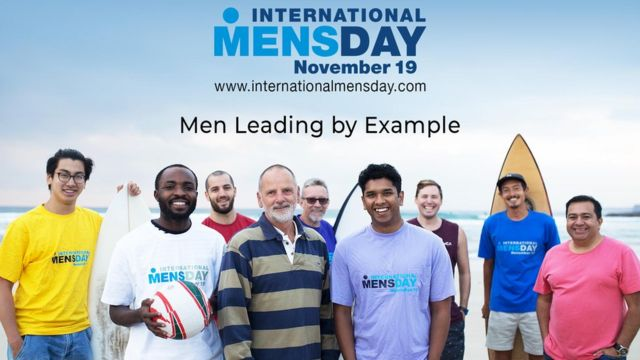 Плакат до Міжнародного дня чоловіків, 2018 рік