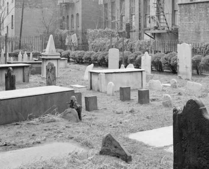 Cemitério antigo judeu em Nova York