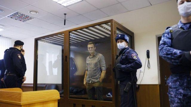 Russian opponent, Alexei Navalny