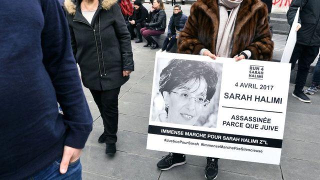 Sarah Halimi evinin penceresinden aşağı atılarak öldürülmüştü