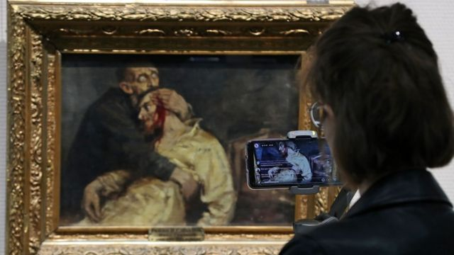 Repin's painting