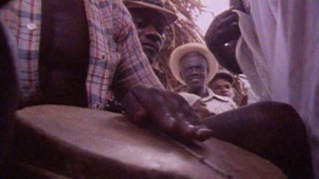 Cérémonie vaudou en Haïti