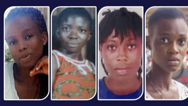 "Ghana ""missing Takoradi girls"""