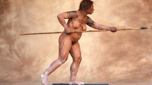 Фігура неандертальської жінки