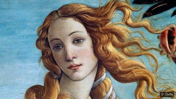 Detalhe de 'O Nascimento de Vênus', de Botticelli