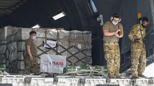 American aid