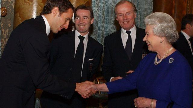 The Queen Met - Dr. Gareth Southgate in 2002