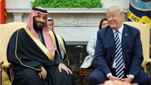 Trump ve Muhammed bin Salman