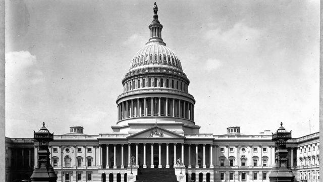 Capitolio en Washington.