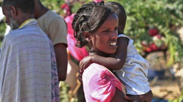 عدد كبير من اللاجئين فر إلى السودان.