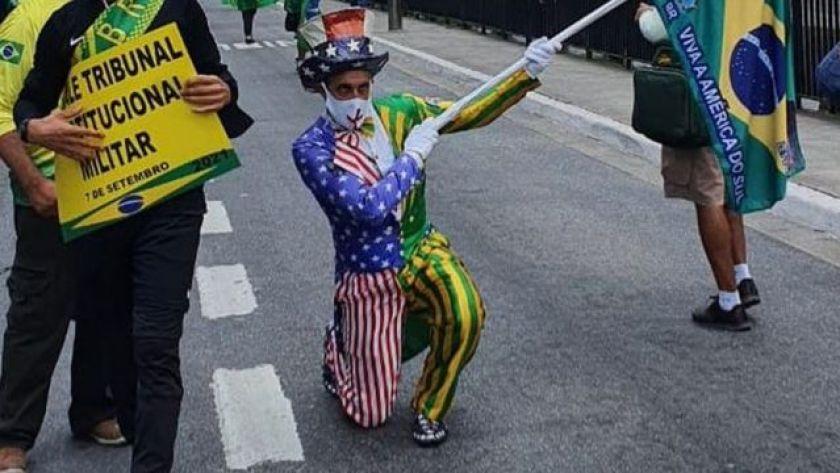 Manifestation in Paulista