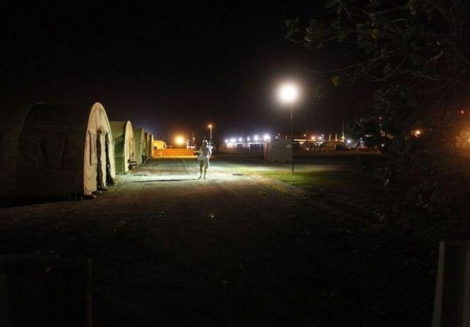 Guantanamo'da İlk duruşmaların yapıldığı bölge