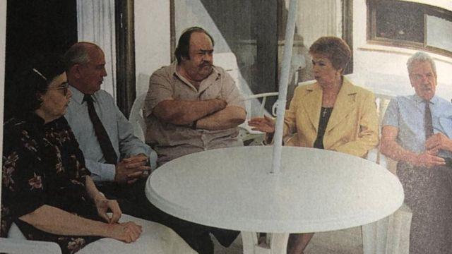 Gorbachev in Israel