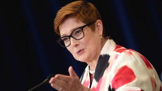 Australian Foreign Minister Mary Payne