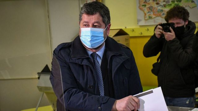 Лидер реформаторской либеральной партии Демократическая Болгария и один из зачинателей прошлогодних протестов Христо Ивано