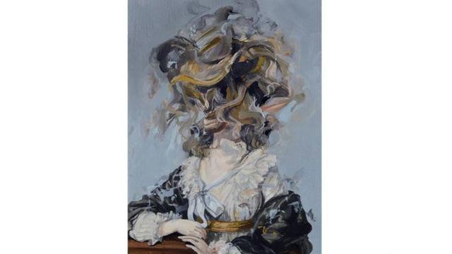 عُرِضَت أعمال للرسام الكولومبي دايرو فارغاس مؤخرا في الأكاديمية الملكية للفنون في لندن