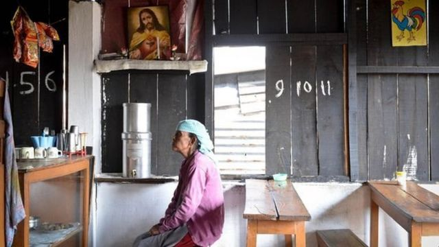 In some Christian families of the Khasi community, the father became the head of the family