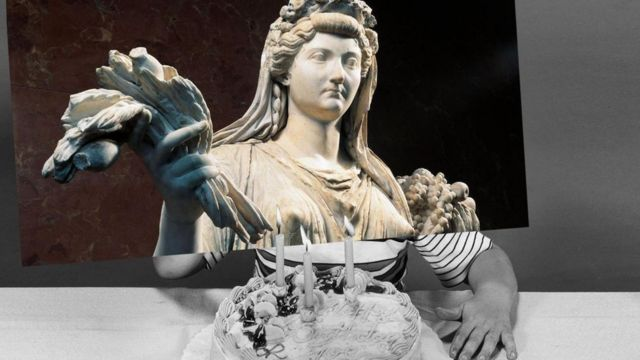 La emperatriz romana Livia, esposa de Augusto