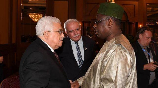 Mahmoud Abass et Macky Sall