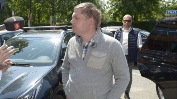 راسموس بالودان، زعيم حزب اليمين المتطرف الدنماركي، سترام كورس