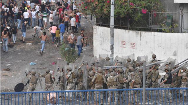 Lebanese demonstrations