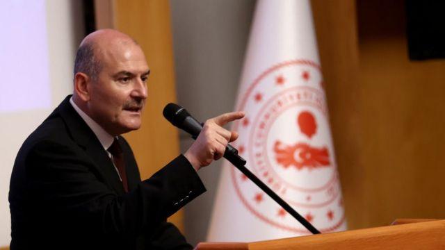 Turkish Interior Minister Suleiman Soylu
