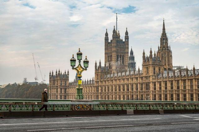 شارع مبنى البرلمان في لندن