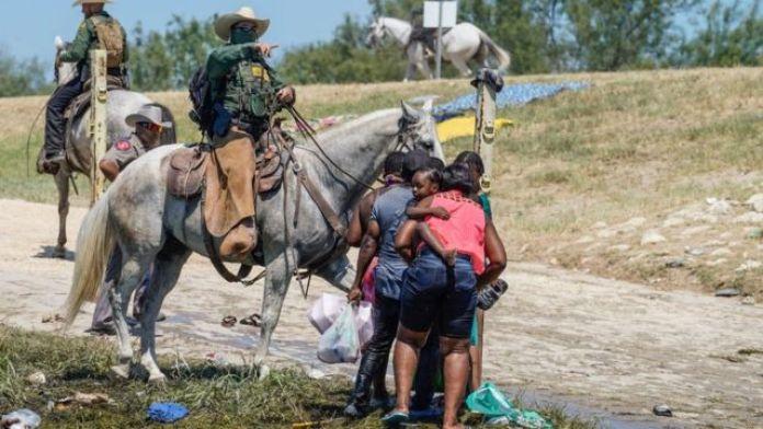 patrulla fronteriza en Texas.