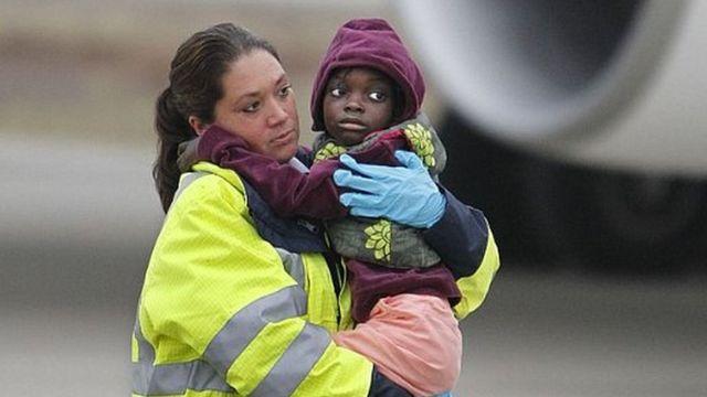 Tras el terremoto en Haití en 2010, muchos huérfanos fueron traídos a Europa.