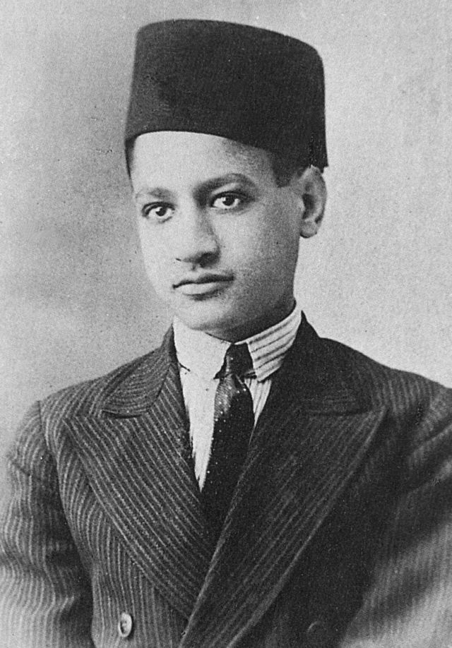 Gamal Abdel Nasser in a photo dating back to 1931