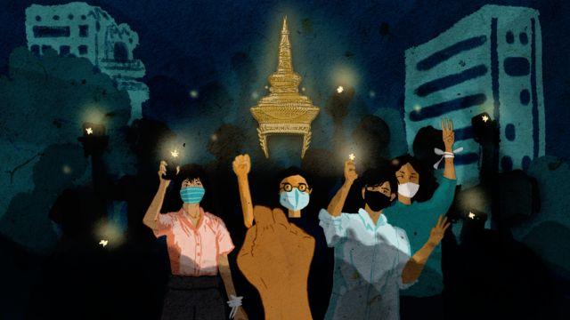 Da' yar reer Thailand ah oo dibadbaxyo dhigaya